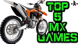 DAY IN THE LIFE |  - THE TOP 5 DIRTBIKE GAMES of 2018 -
