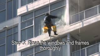 High-Rise Post-Construction Window Cleaning