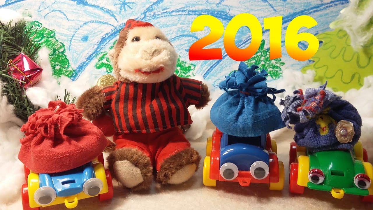 Мультфильм поздравление с новым годом