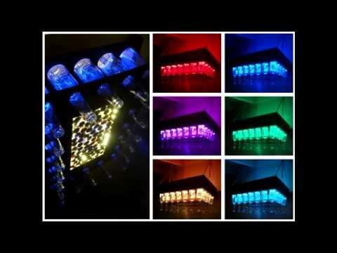 Светодиодный светильник  своими руками в бар