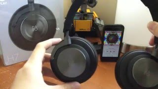 Unboxing Bang and Olufsen H7 Black