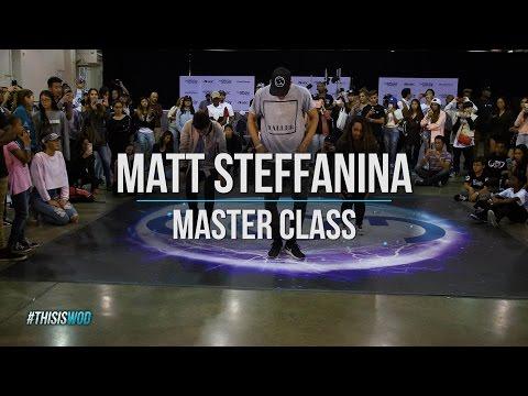 Master Class with Matt Steffanina | World of Dance Los Angeles 17 | #WODLA17