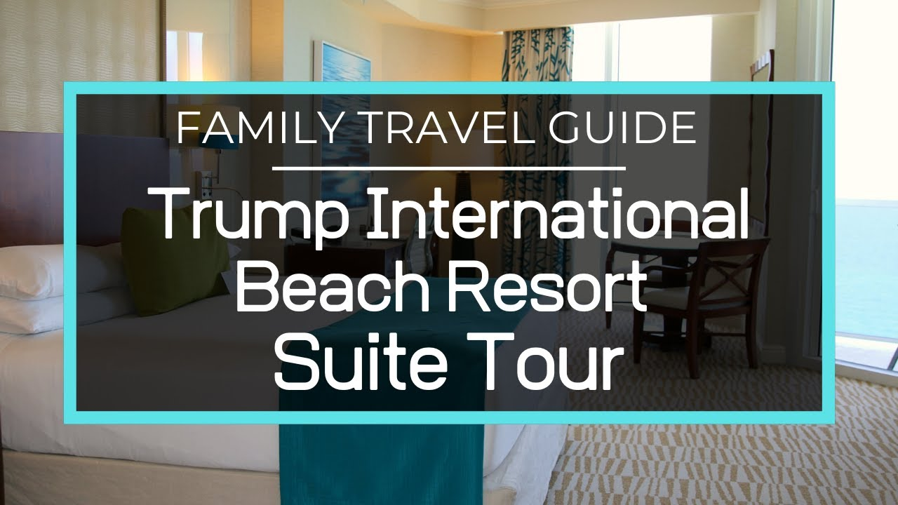 Trump International Beach Resort 2 Bedroom Oceanfront Suite Tour Miami Sunny Isles Florida