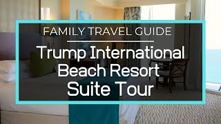 Trump International Beach Resort - 2 Bedroom Oceanfront Suite Tour, Miami, Sunny Isles, Florida