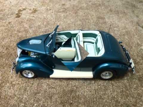 Built 1937 ford convertible revell kit 1/24 scale & Built 1937 ford convertible revell kit 1/24 scale - YouTube markmcfarlin.com