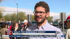 Rally for renewable energy in Las Vegas