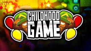 FAVORITE CHILDHOOD GAME!! ( Minecraft Bloons TD Tower Defense Server )