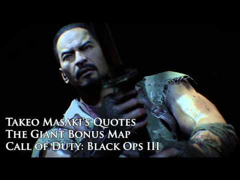 "The Giant - Takeo  Masaki's quotes / Sound files (Black Ops III ""The Giant"" DLC)"