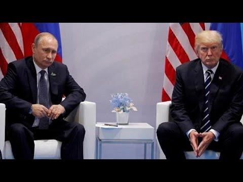 O encontro de Trump e Putin em Helsínquia