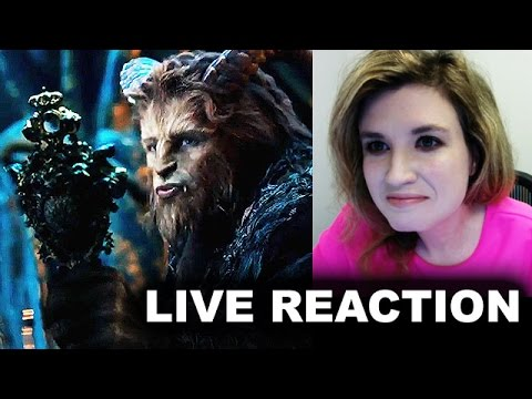 Beauty and the Beast 2017 Trailer Reaction