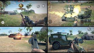 Pacific Fun - Flamethrower - Flare Gun - Mosin - Svt - Mp44 . World War Heroes 1.8.2 Ultra Settings