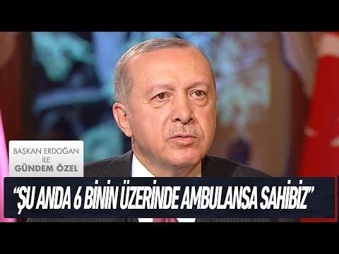 Türkiye'nin 'sağlık' devrimi - Başkan Erdoğan ile Gündem Özel
