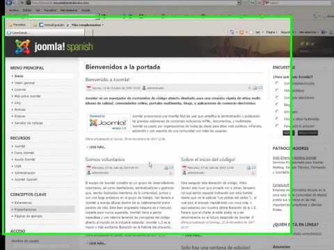 PhpMyAdmin. Joomla. Exportar E Importar Bases De Datos