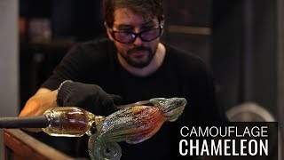 Sculpting a CAMOUFLAGE CHAMELEON