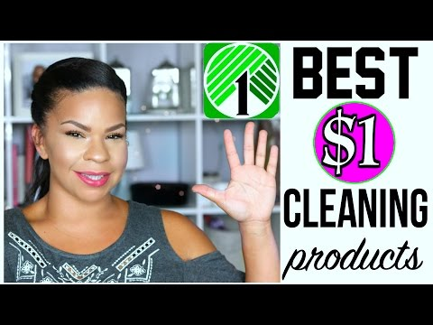 THINGS YOU SHOULD ALWAYS BUY AT DOLLAR TREE + PRODUCTS THAT SUCK! CLEANING SUPPLIES