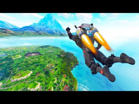 EPIC *NEW* FLYING JETPACK KILL! - Fortnite