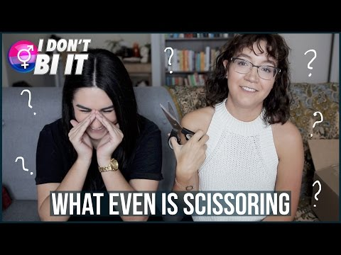 HOW DO LESBIANS HAVE SEX?? (asking a real lesbian) | I Don't Bi It