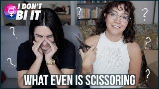 HOW DO LESBIANS HAVE SEX?? (asking a real lesbian) | I Don't Bi It