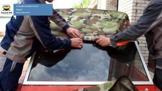 Инструкция по установке ходового тента на лодку «Крым»