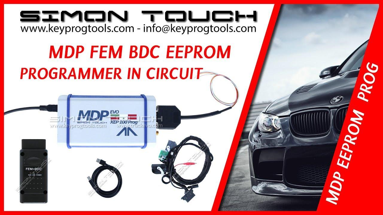 MDP FEM BDC BMW eeprom Key Programmer