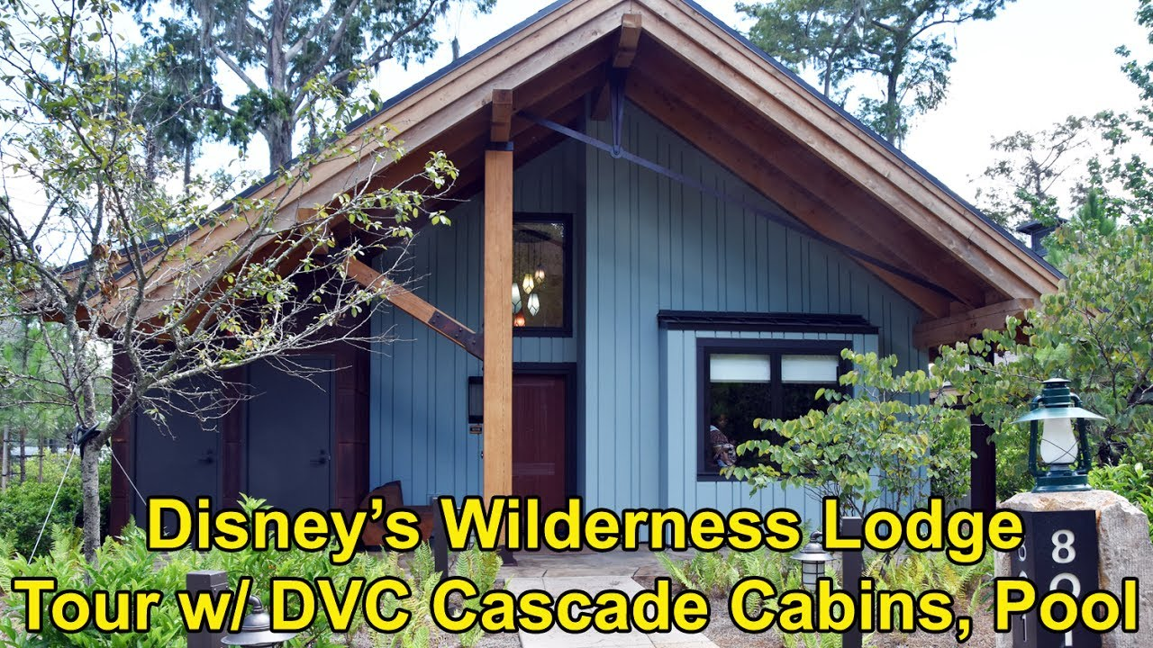 Disney 39 s wilderness lodge tour of dvc cascade cabin for Cabins at wilderness lodge