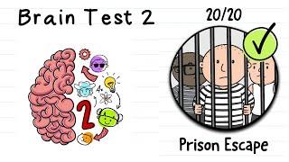 Brain test 2 | Prison Escape All levels 1 - 20
