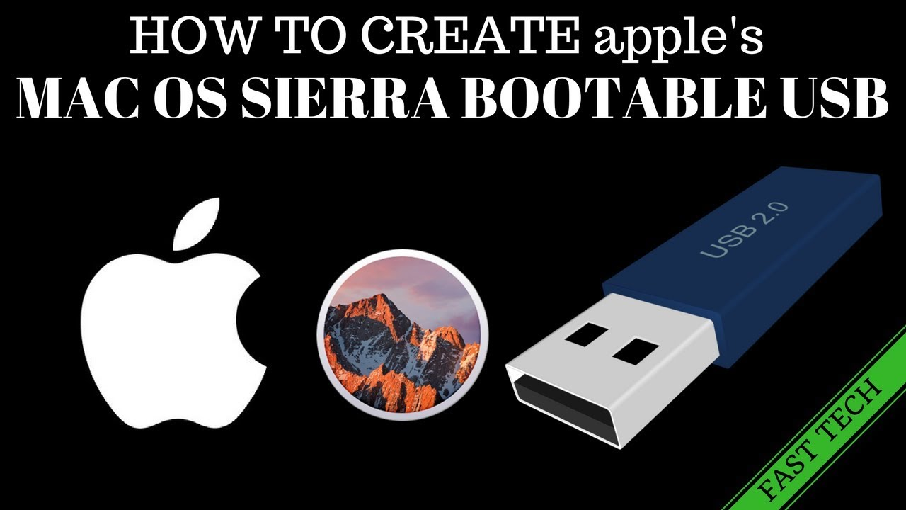How to make Sierra 10 12 6 Bootable usb with unibeast for hackintosh