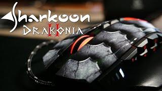 Unboxing Sharkoon Drakonia II - Smocza myszka z RGB!