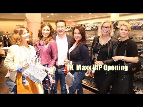 TK Maxx VIP-Opening in München mit exklusivem Late-Night Shopping am 22.03.2016 (Promi Haul)