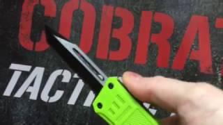COBRATEC CTK-1 ZOMBIE GREEN LG OTF