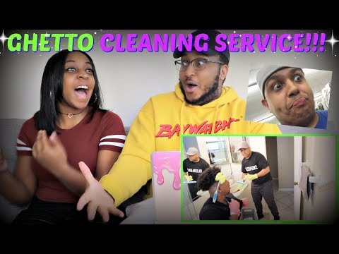 DashieXP GHETTO CLEANING SERVICE! REACTION!!!