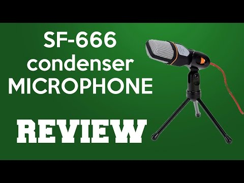 condenser microphone sf 666 review and sound test youtube. Black Bedroom Furniture Sets. Home Design Ideas