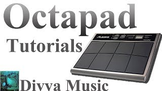 How to play Drum Octapad online Lessons for beginners Drum Instructors online Octapad training