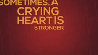 Sometimes, a crying heart is stronger than a healing mind -  Deep Quotes About Life