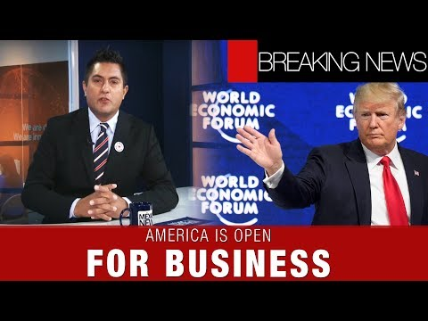 AMERICA IS OPEN FOR BUSINESS | BREAKING NEWS