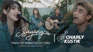 Charly Van Houten - Sayang ( Via Vallen ) - (Official Live Acoustic Cover 24)