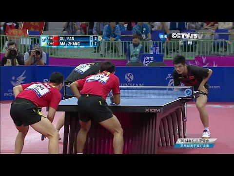 2014 Asian Games MD-Final: Ma Long /Zhang Jike - Xu Xin/Fan Zhendong [HD] [Full Match/Chinese]