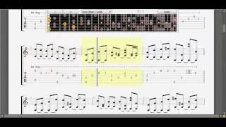 [Guitar TAB] Tiếng dương cầm trong đêm
