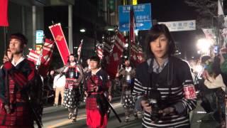 2015年4月4日。第44回信玄公祭り。 武田信玄本陣隊行列。 動画の公開に...