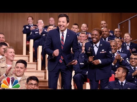 Thumbnail: Freestylin' with The Roots: Fleet Week Military Audience