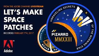 Let's Make Space Patches - from the Adobe Livestream 02/07/17