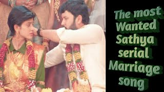 Download lagu The most wanted sathya serial lovely marriage song