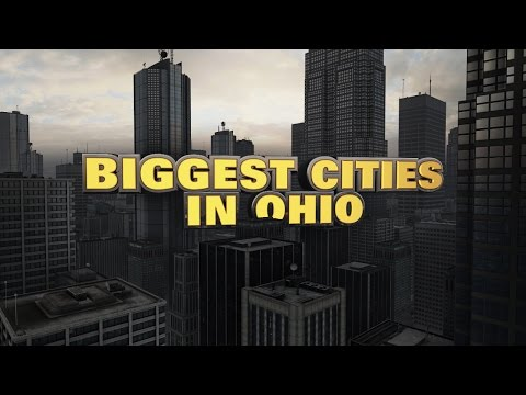 10 biggest cities in Ohio 2015