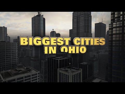 10 biggest cities in Ohio 2015