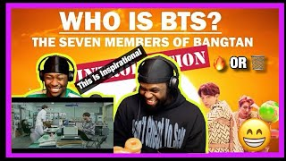 [Brothers React] Who is BTS?: The Seven Members of Bangtan (INTRODUCTION)