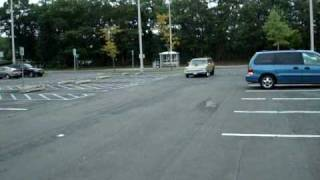 Rambler American Wagon Burnout.wmv