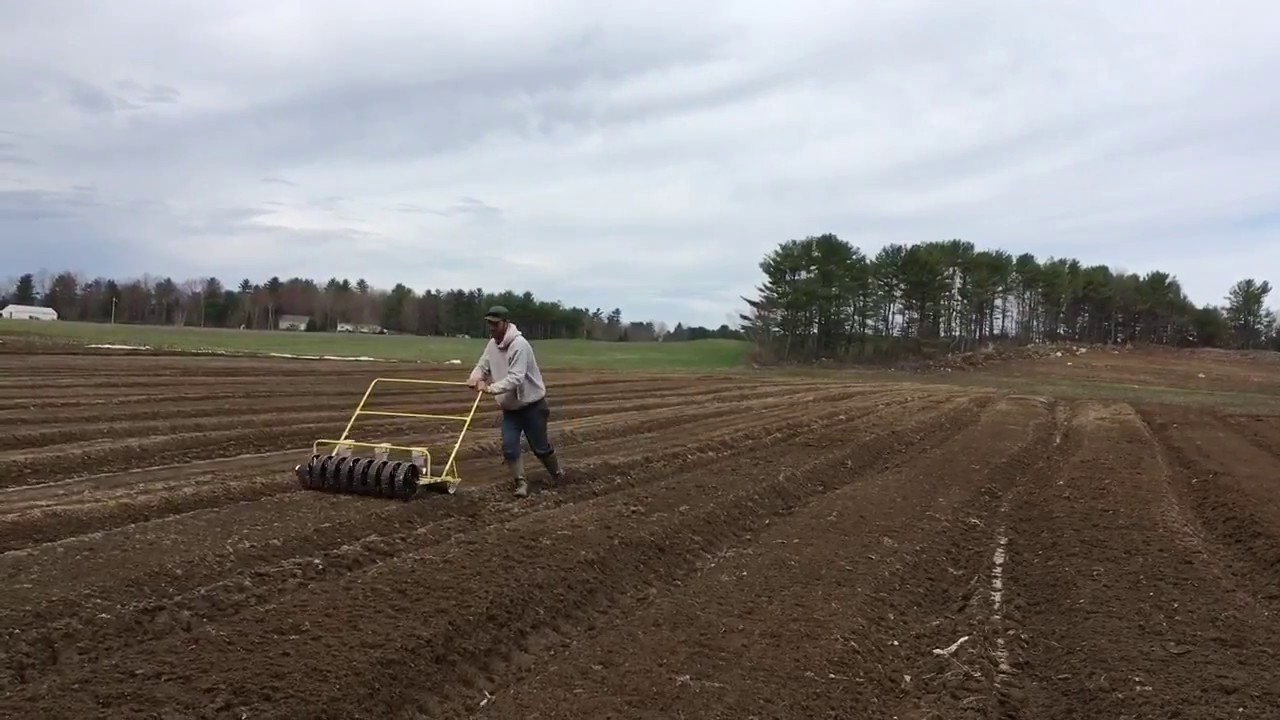 Farmer Kev\'s Jang JP-6W Seeder - YouTube