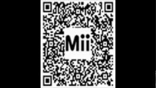 Gold bottomed Miis QR Codes!! - Nintendo 3DS - Gold bottomed Miis compilation