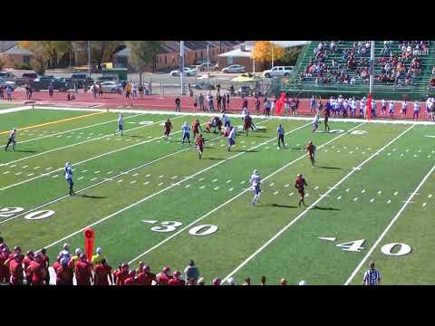 Tom Saager Colorado Mesa University 2017-2018 Football Highlight