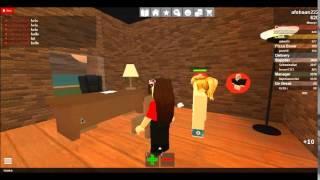 how to be manager in work at a pizza place:roblox